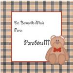 Papelaria personalizada para bebês e crianças
