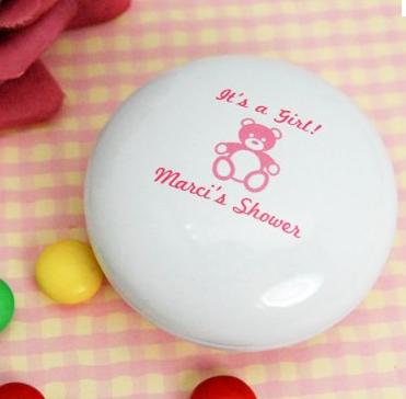 M&M's personalizados para chá de bebê
