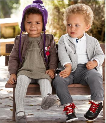 H&M para bebês e crianças