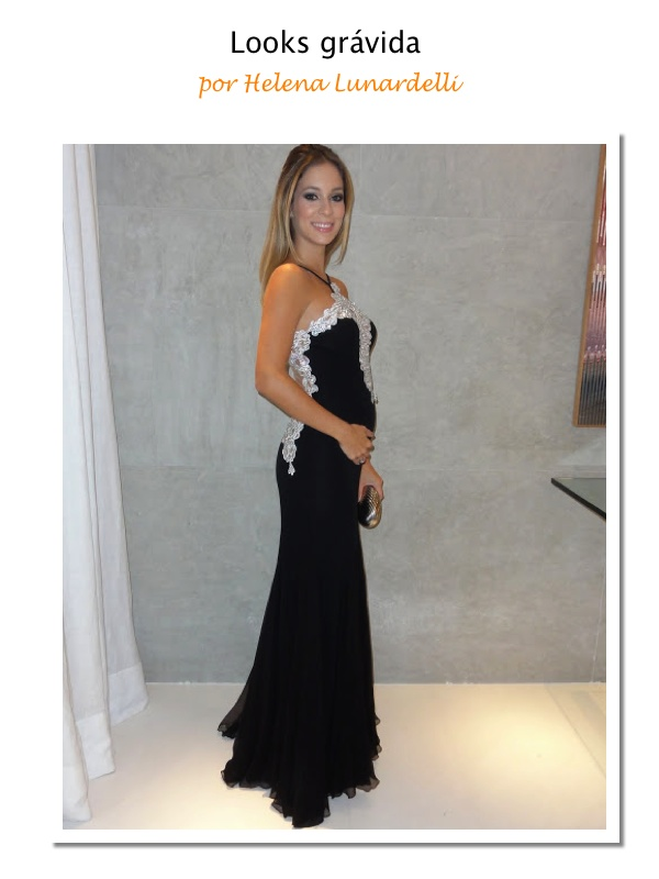 Looks grávida: Helena Lunardelli