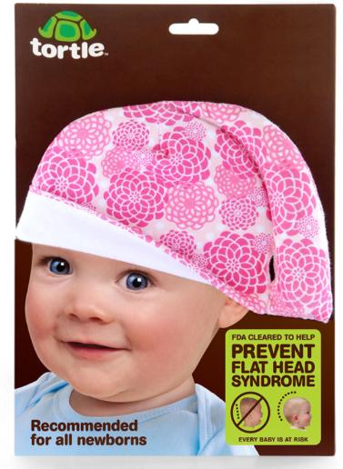 Lançamento: produto para prevenir a cabeça plana / chata em bebês