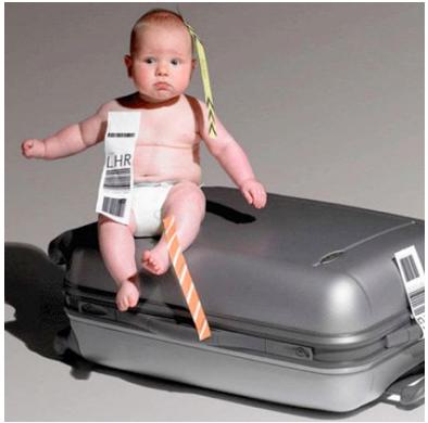 viajando com crianças e bebês 2