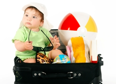 Viajar com crianças requer planejamento