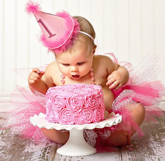 """Inspiração para fotos de bebê: """"Smash Cake """""""