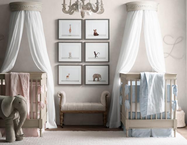 Quarto de bebê – Nova coleção por RH Baby and Child