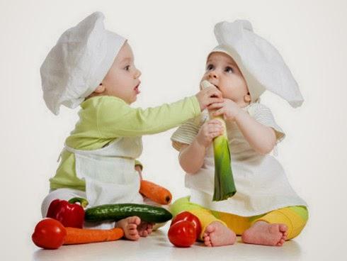Alimentos que regulam o intestino dos Bebês