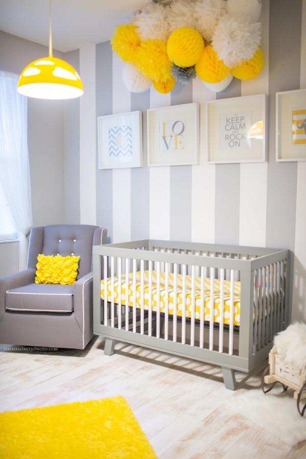 Cinza: A cor da moda para quarto de bebês