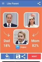 Aplicativo mostra com quem os filhos são mais parecidos