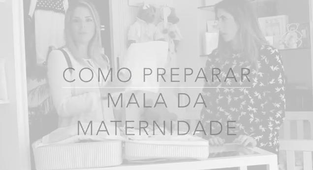 Mommy's Concierge TV: Como arrumar a mala da maternidade