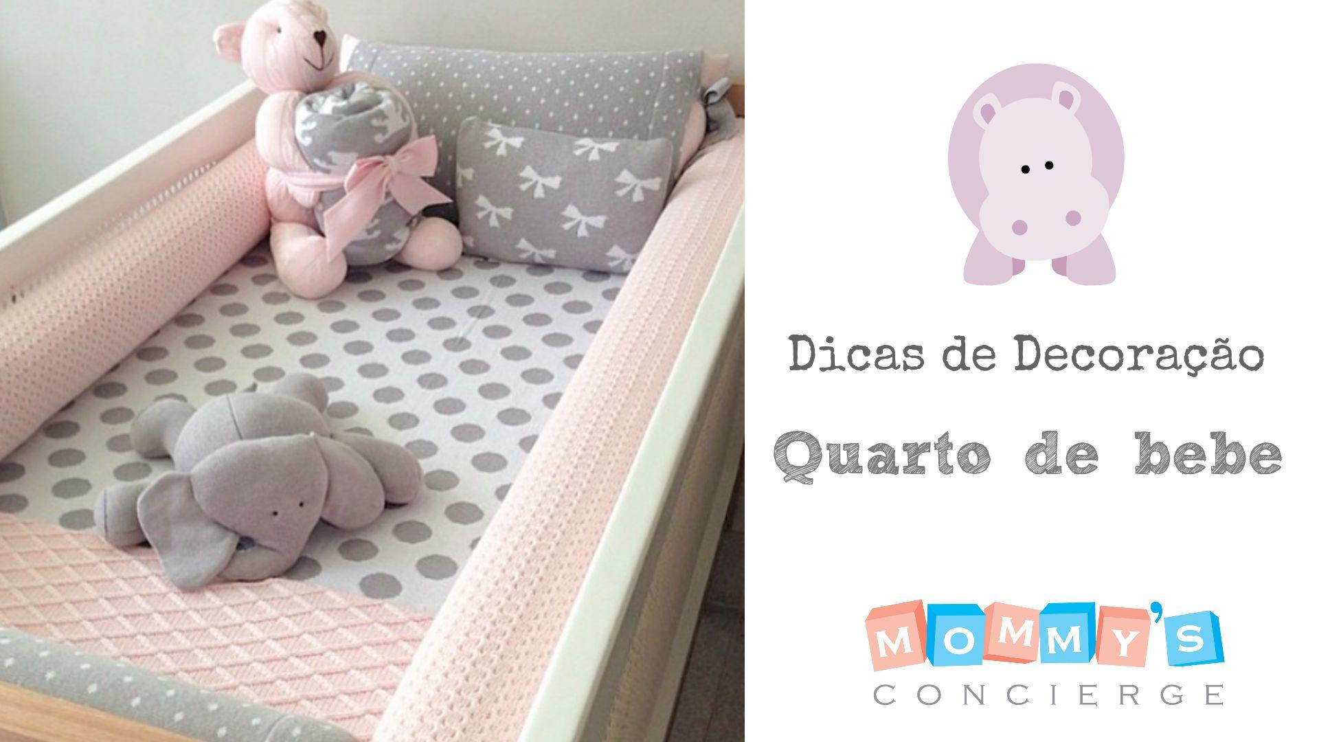 Mommy's Concierge TV: decoração quarto de bebê
