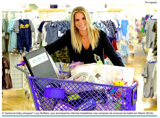 Mommy's Concierge na mídia: A Folha de São Paulo