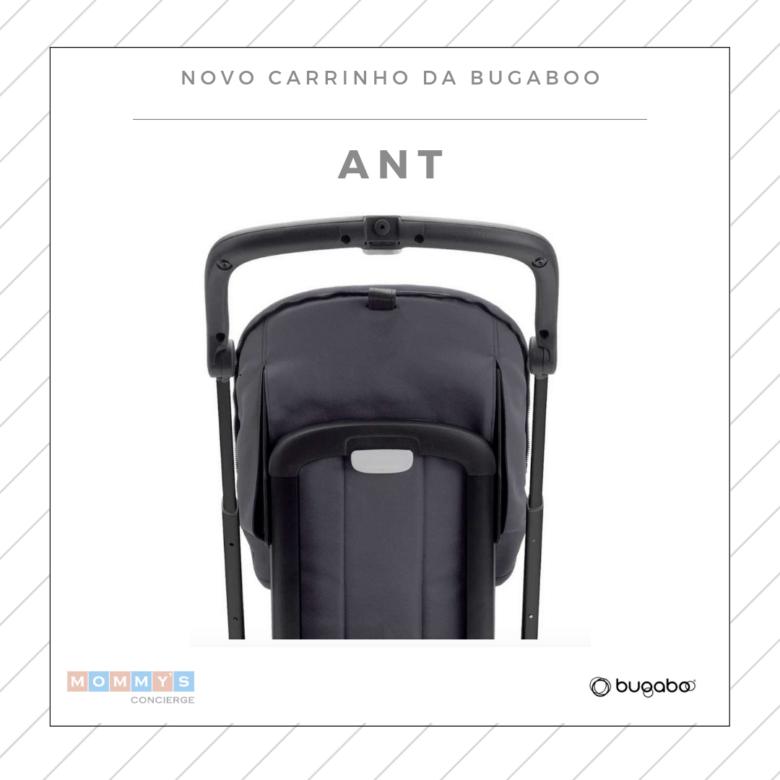 Carrinho de bebê compacto: Bugaboo Ant visão de costas