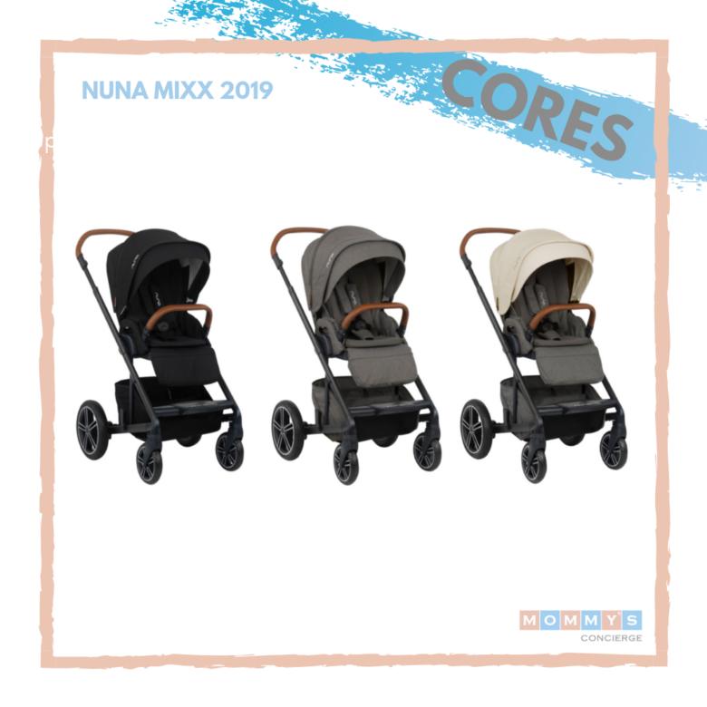 Nuna Mixx 2019 Cores