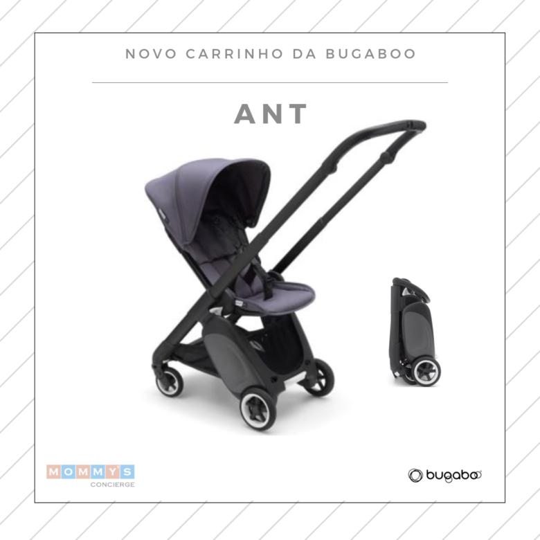 Carrinho de bebê compacto: Bugaboo Ant visão frontal