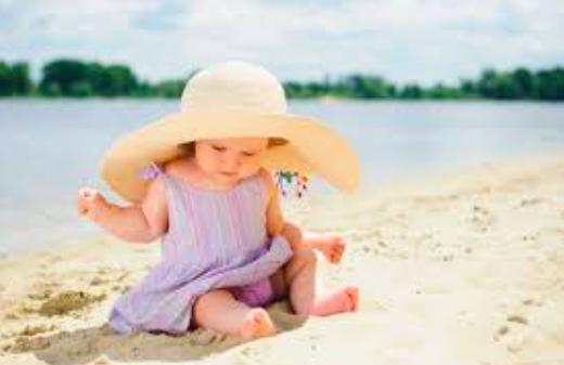 Banho de sol para bebês e crianças 1