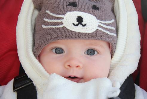 inverno bebês
