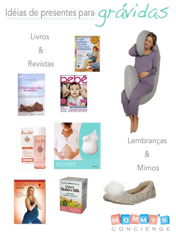 presentes para grávidas