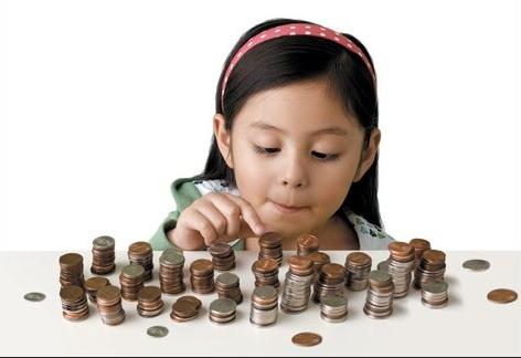 saude financeira crianças