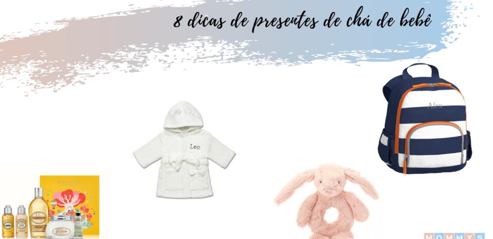 8 dicas criativas para presente de Chá de bebê
