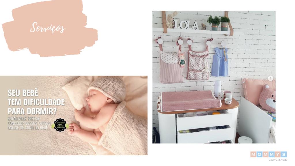 Seu bebê tem dificuldade para dormir? Confira o curso da bebê dorminhoco.