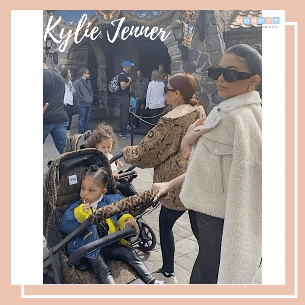Carrinho moderno kylie Jenner