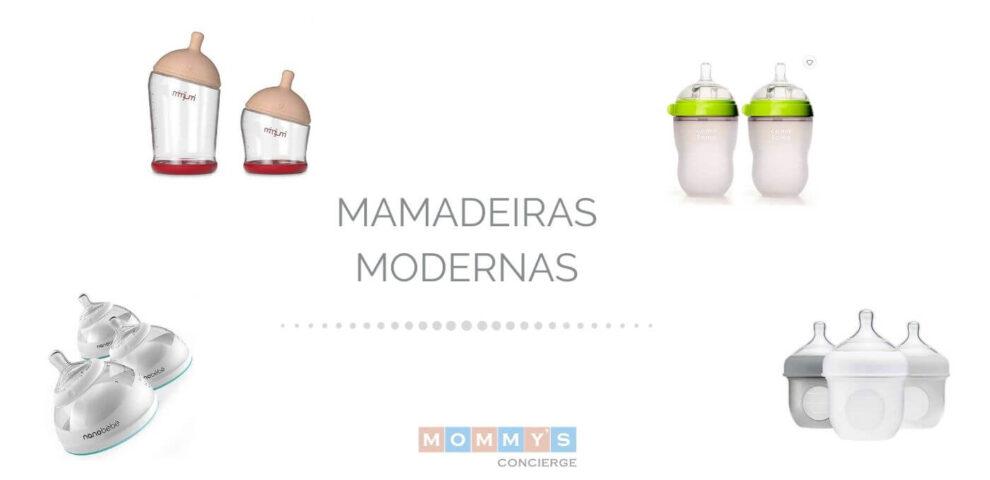 Mamadeiras modernas